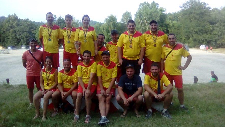 Les médaillés individuels lors des finales.