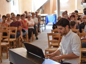 Gilles Liacopoulos au piano