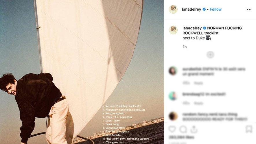 Lana Del Rey a invité l'acteur Duke Nicholson sur la pochette de son prochain album.