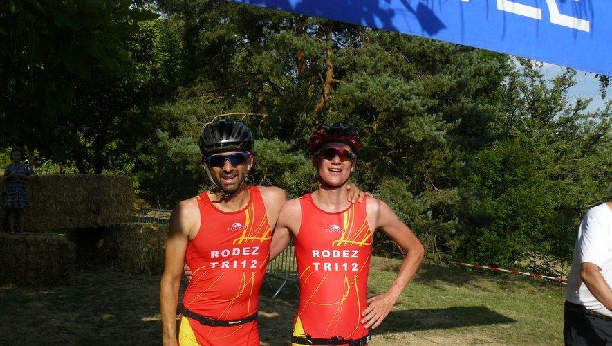 les vainqueurs du Bike and Run 2018