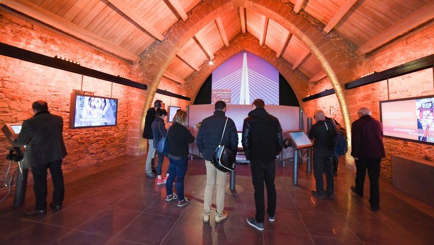 Le nouvel espace d'exposition laisse place aux technologies.