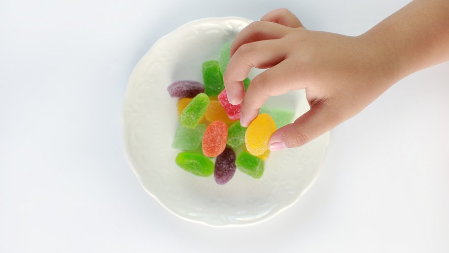 Bonbons au cannabis : danger pour les enfants