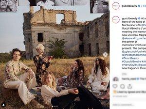 Gucci Beauty sur Instagram 2019
