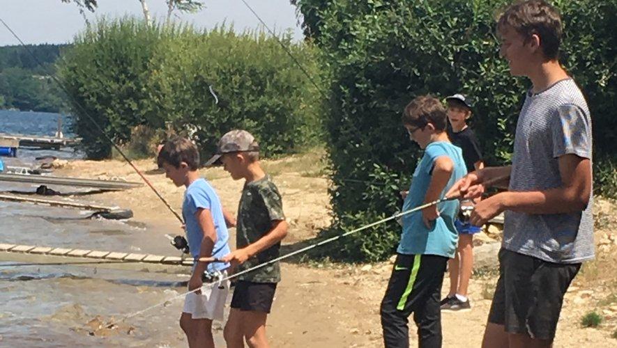 Un stage pêche a été proposé.