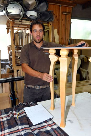 Nicolas Goubioud s'inspire de la nature pour du sur-mesure