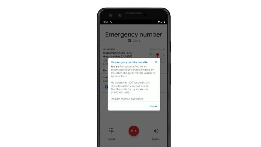 Google veut proposer un service d'appels d'urgence totalement automatisé.