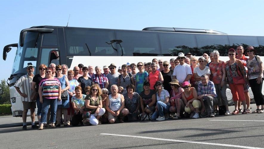 Heureux les adhérents de la Fenarac, ont fait un beau voyage…