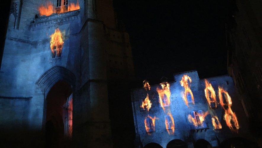 L'un des épisodes les plus noirs de l'histoire de Villefranche-de-Rouergue avec le terrible incendie qui ravagea le centre-ville à la fin du Moyen âge.