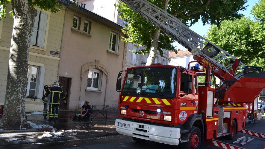 Les pompiers ont eu fort à faire depuis 3 heures du matin, dimanche.