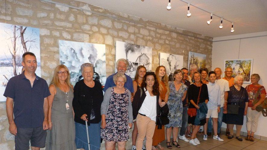 L'exposition est visible tous les jours jusqu'au vendredi 16 août, de 15 heures à 19 heures.