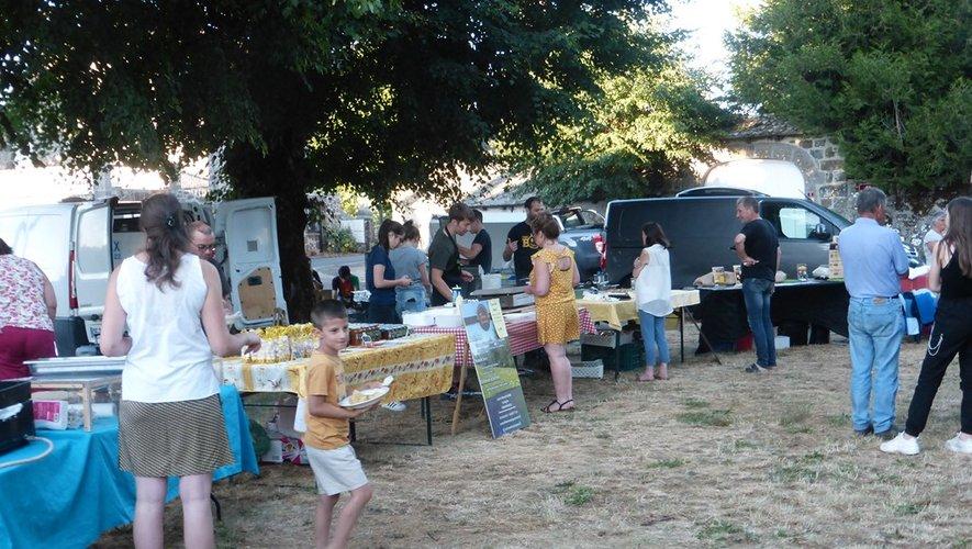 Un marché pour découvrir les saveurs du terroir.