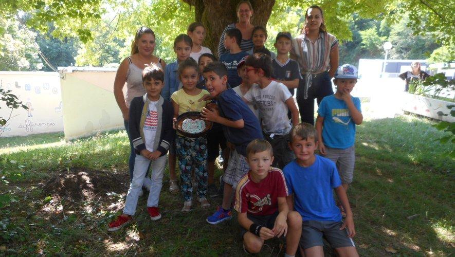 Les jeunes ont réalisé un gâteau dans le cadre de « À la recherche de talents ».