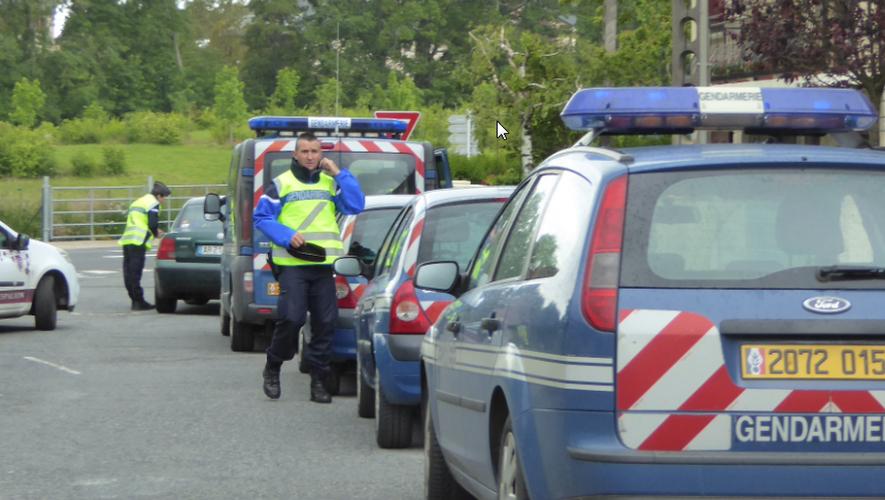 Gendarmes et policiers toujours mobilisés pour la sécurité routière.