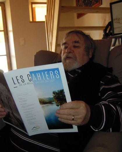 Originaire de Livinhac, auteur de nombreux livres, Pierre Poujol a lancé les Cahiers en mars 2015.