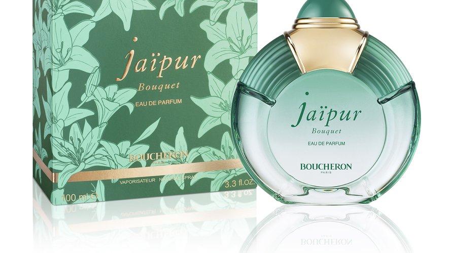 """Le parfum """"Jaïpur Bouquet"""" de la maison Boucheron."""