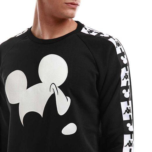 La silhouette de Mickey Mouse s'invite sur une série de pièces iconiques signées Kappa.