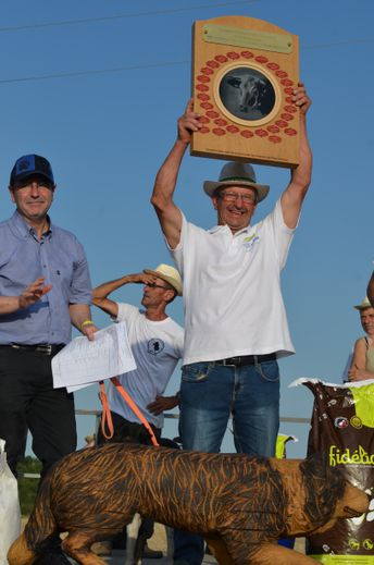 Jean Basty, champion 2019.