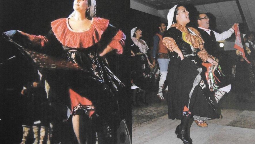 Le folklore Italien et Rouergat au rendez-vous
