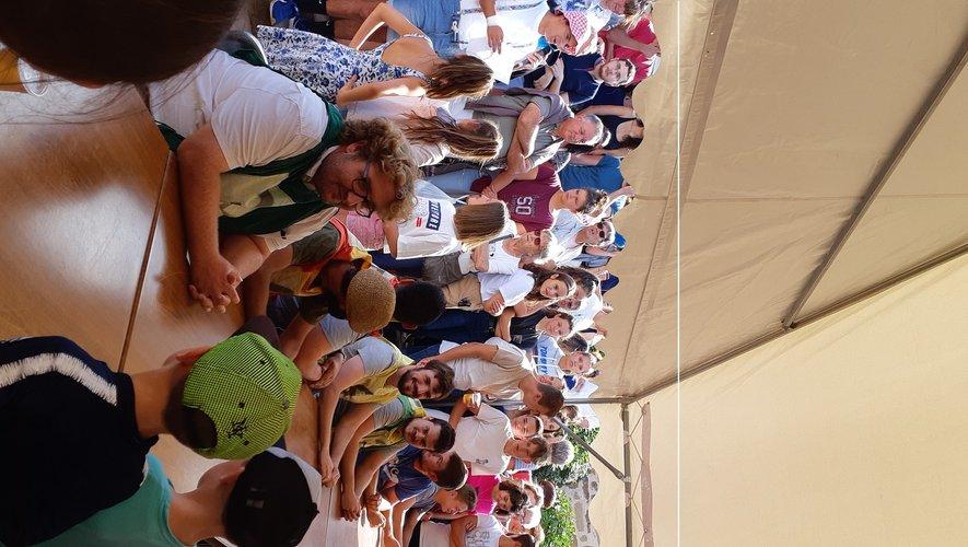 Les participants au concours d'aligot ont dégluti 1kg500 en 4 minutes