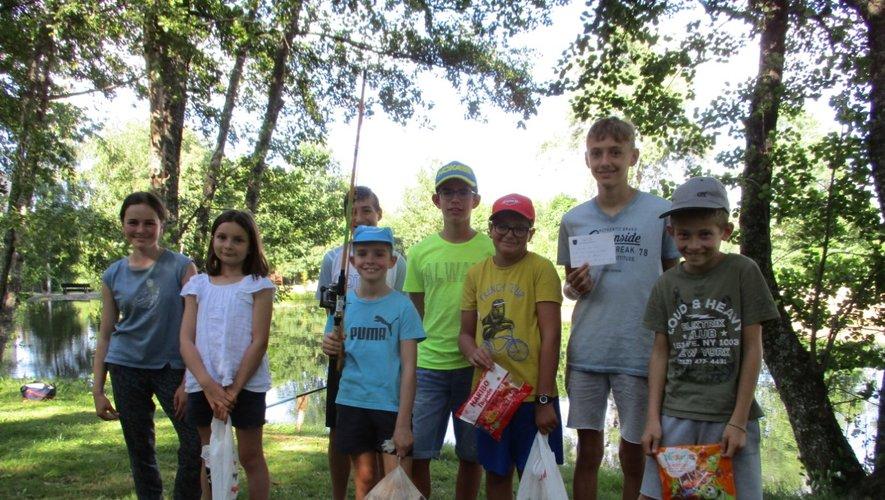 Même si peu nombreux et malgré les conditions défavorables, les jeunes pêcheurs se sont montrés motivés.