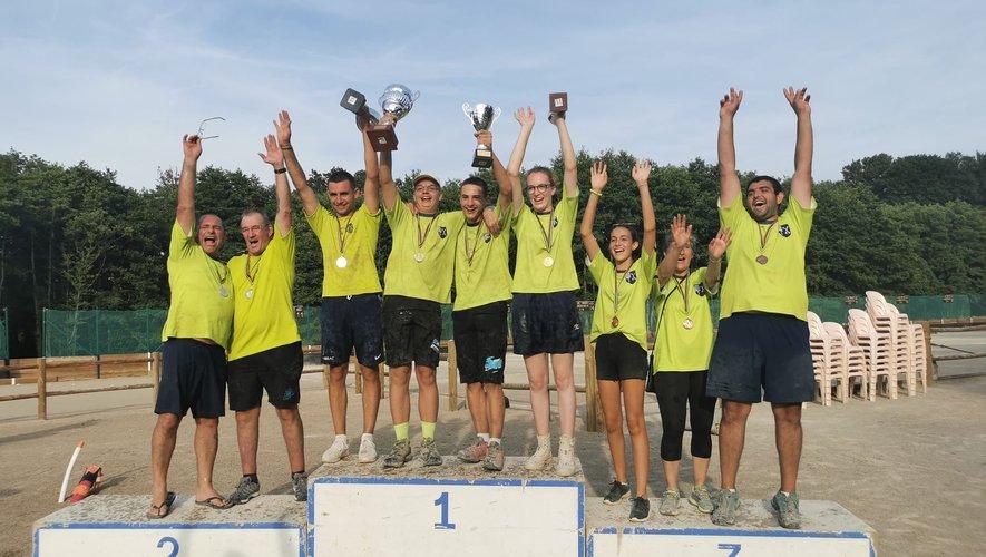 Neuf podiums pour les Florentinois participants à la finale district AOVà Sainte-Geneviève.