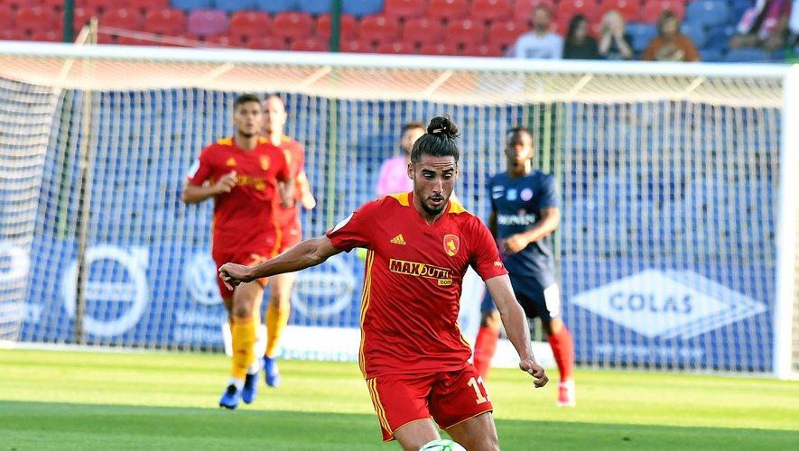 Ugo Bonnet a inscrit le premier but de la saison du Raf.