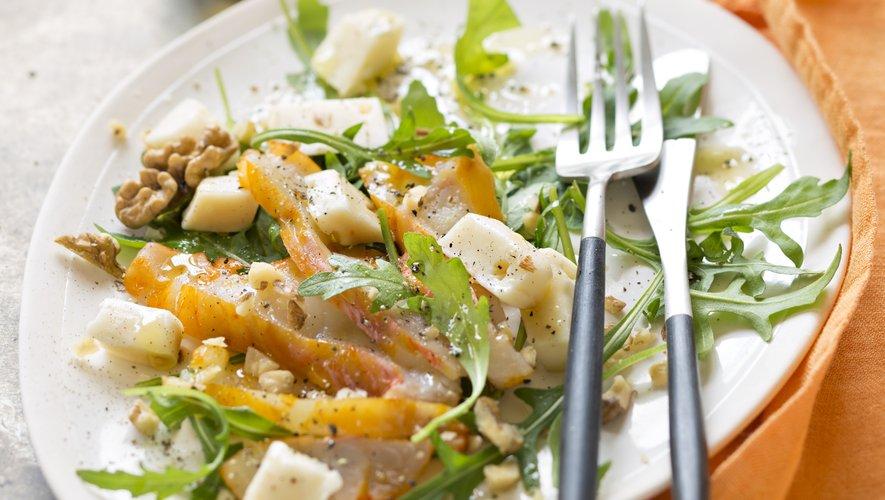 Salade de reblochon et haddock