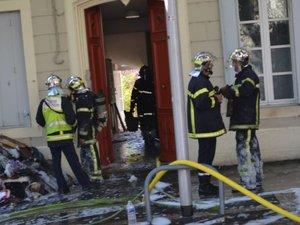 Trois incendies consécutifs s'étaient déclarés, dimanche 4 août au matin.