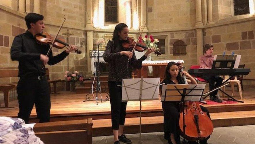 Les musiciens ont offert une belle soirée musicale.