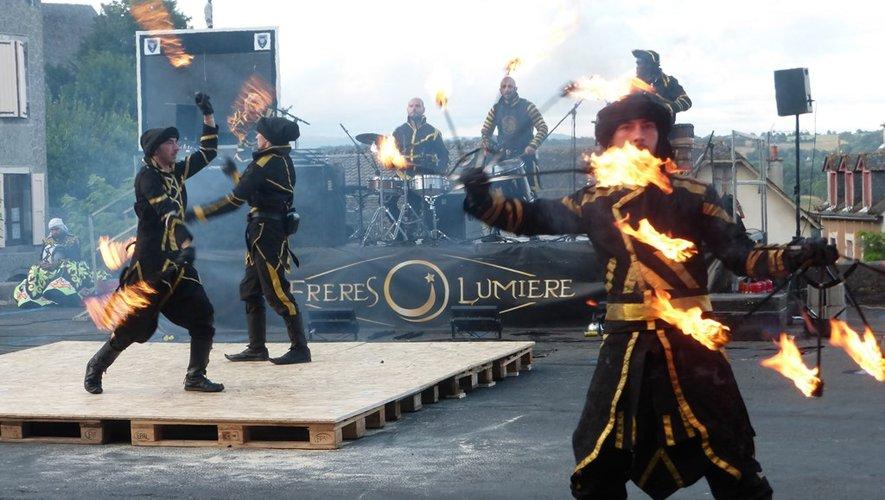 La compagnie « Les Frères Lumière » a proposé un spectacle époustouflant.