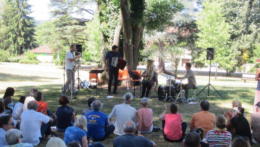 Le festival vous donne rendez-vous dans le parc de Capèle, à partir de 18 heures