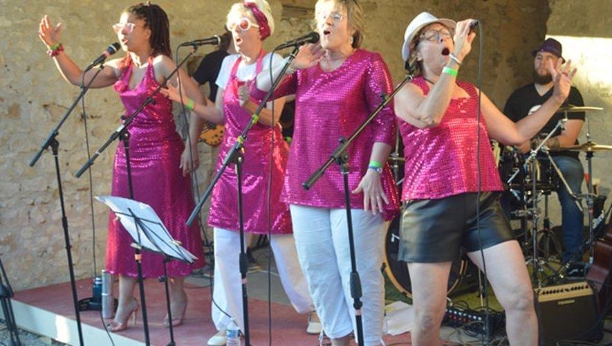 Le groupe de chanteusesLes Vieilles Peaux se produira ce soir à partir de 21 heures.