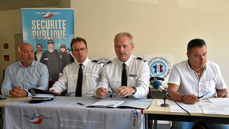 Les élus comme les forces de l'ordre se félicitent d'une enquête réussie.