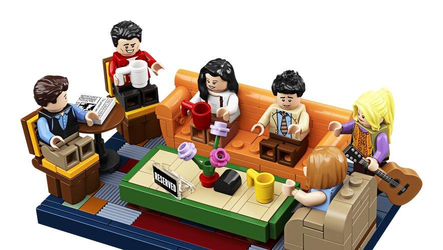 Lego a créé les figurines de Ross, Rachel, Monica, Phoebe, Joey et Chandler à l'occasion du 25e anniversaire de Friends