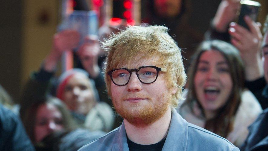 Ed Sheeran à la Berlinale, le 23 février 2018