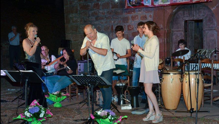 Le big Band d'Espalion a une nouvelle fois enthousiasmé le nombreux public.