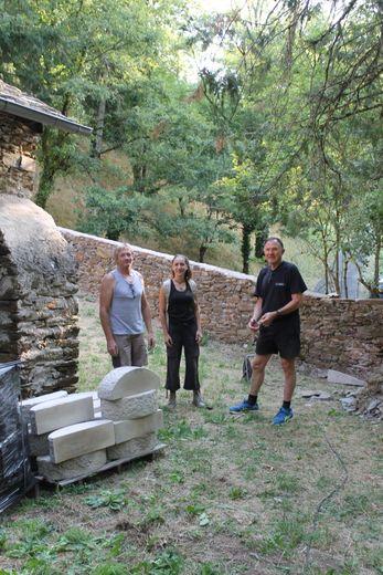 Les acteurs des opérations de réhabilitation du site historique.