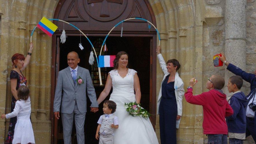 Nadège et Benoît ont célébré leur union