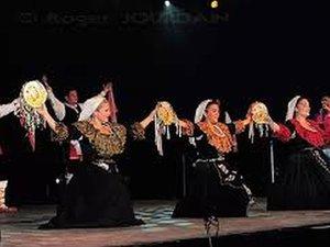 Les danseuses italiennes à l'œuvre.