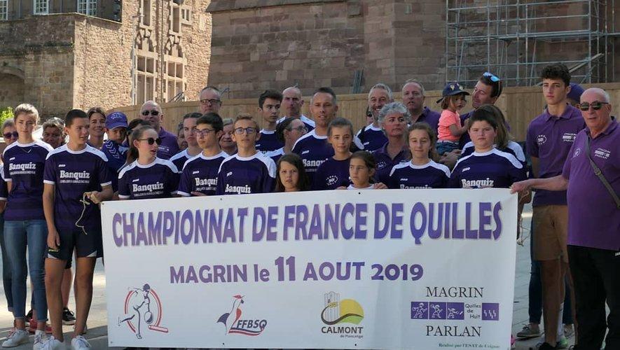 Magrin est prêt pour le championnat de France prévu demain sur la commune.