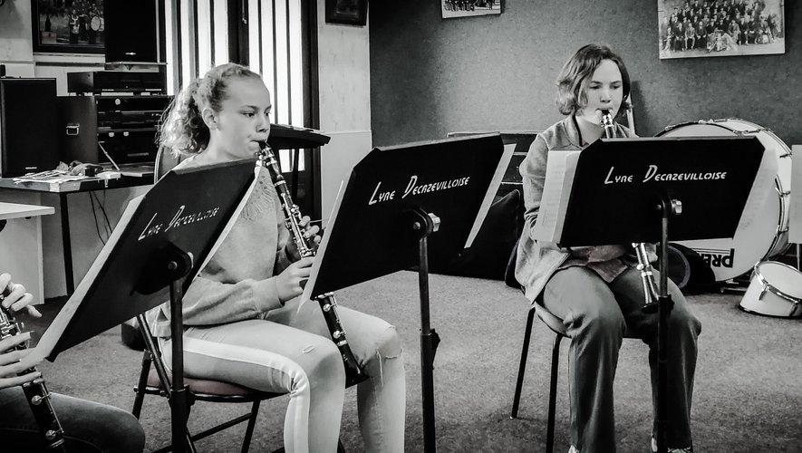 L'école de musique a connu une forte progression en un an.