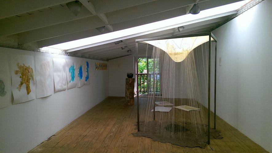 Exposition « Ainsi va la vie, au fil de l'eau » de Tsama Do Paço.