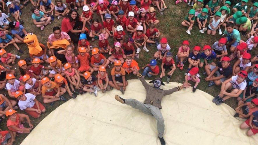 Les enfants ont assisté aux spectacles de Cap Mômes.