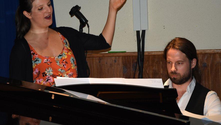 Charlotte Bonnet était accompagnée au piano par Cyril Kubler.
