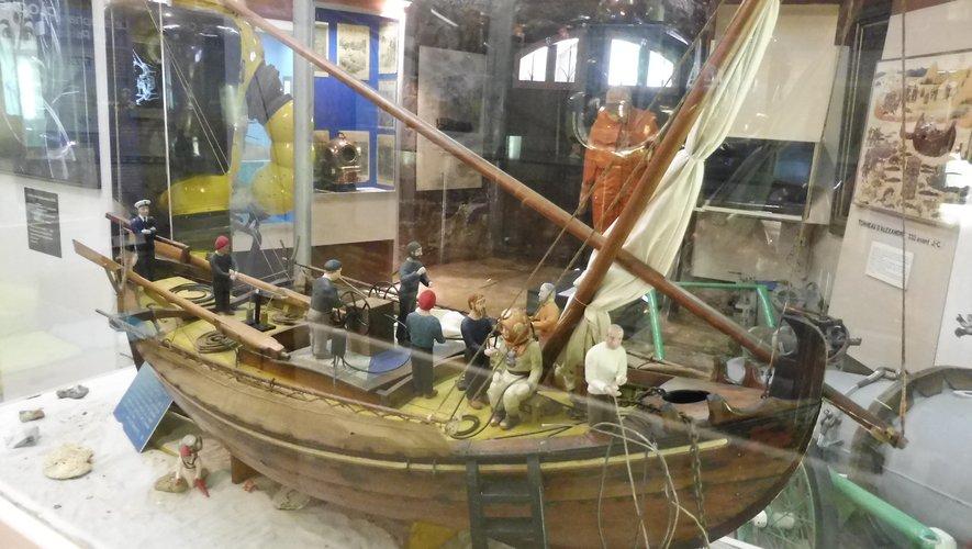 Le musée du scaphandre offre de riches collections.