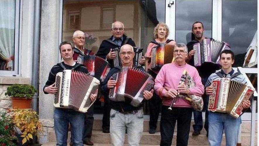 Les amis de l'accordéon de Polminhac sont de retour !