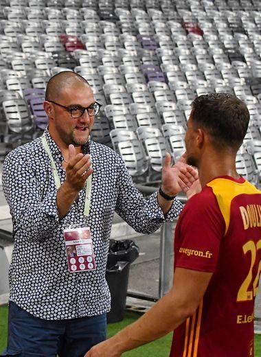 Pierre-Olivier Murat peut féliciter David Douline : en ce début de saison, le Raf déjoue tous les pronostics.