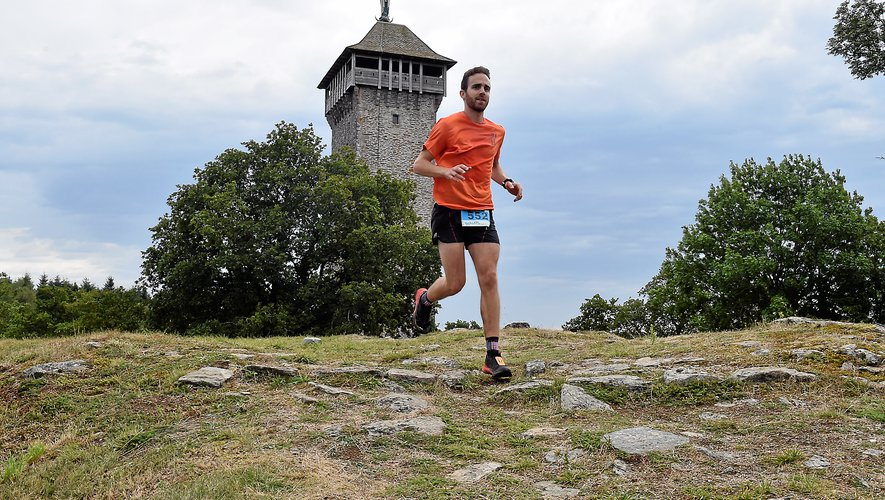 À l'image de Pierre Laur, les participants vont courir dans le magnifique décor du Lévezou.