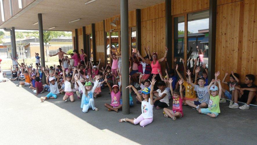 Plus d'une centaine d'enfants participent aux activités du centre.