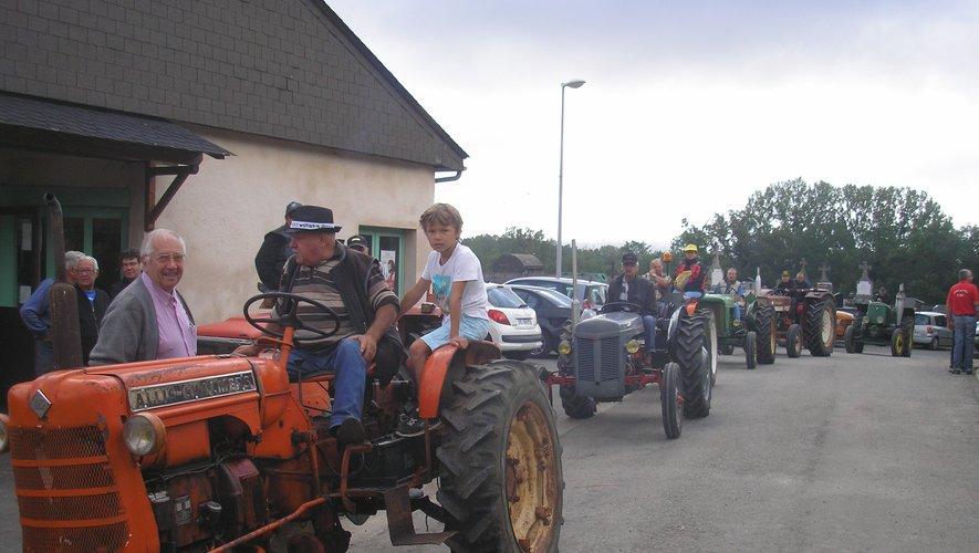 La rando de tracteurs anciens
